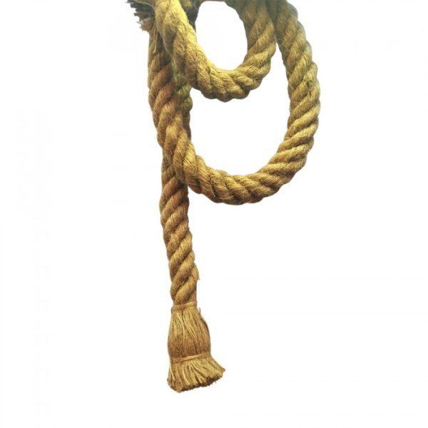 Μονόφωτο κρεμαστό φωτιστικό Σχοινί με Rope σώμα