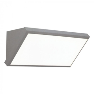 Expand LED αδιάβροχη απλίκα 20W γωνία IP65 6400K Λευκό Γκρι σώμα