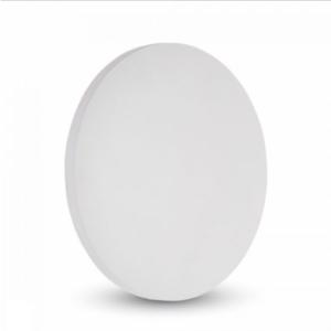 LED επιτοίχιο φωτιστικό 9W Στρογγυλό Λευκό σώμα 3000K Θερμό λευκό