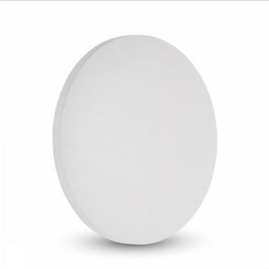 LED επιτοίχιο φωτιστικό 9W Στρογγυλό Λευκό σώμα 4000K Φυσικό λευκό