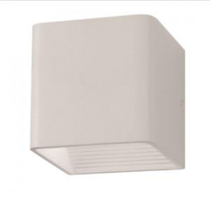 Expand LED επιτοίχιο φωτιστικό 5W Τετράγωνο Λευκό σώμα 4000K Φυσικό λευκό