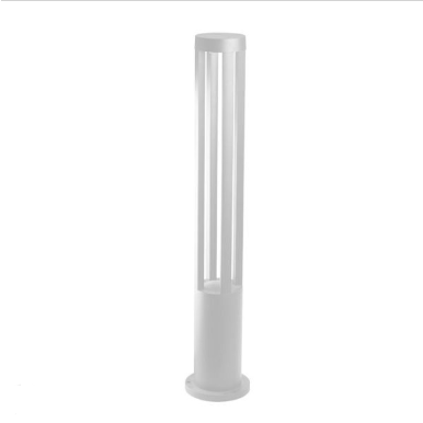 LED αδιάβροχο φωτιστικό 10W IP65 3000K Θερμό λευκό Λευκό σώμα 800mm