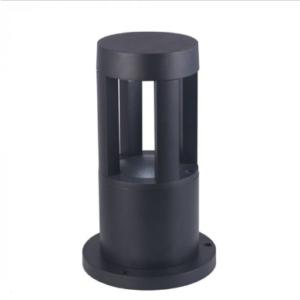 LED αδιάβροχο φωτιστικό 10W IP65 3000K Θερμό λευκό Μαύρο σώμα 250mm