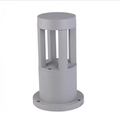 LED αδιάβροχο φωτιστικό 10W IP65 4000K Φυσικό λευκό Γκρι σώμα 250mm