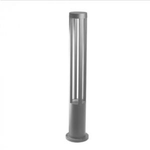 LED αδιάβροχο φωτιστικό 10W IP65 4000K Φυσικό λευκό Γκρι σώμα 800mm