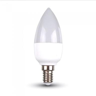 Λάμπα LED E14 Κερί SMD 3W Φυσικό λευκό 4500K Λευκό