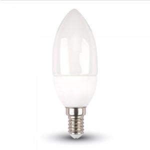 Λάμπα LED E14 Κερί SMD 4W Λευκό 6400K