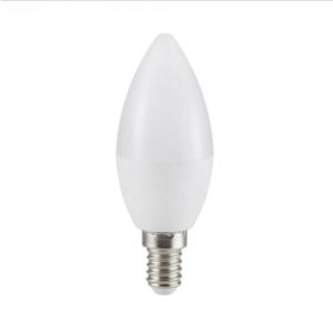 Λάμπα LED E14 Κερί SMD 5.5W Θερμό λευκό 2700K Λευκό
