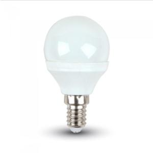 Λάμπα LED E14 P45 SMD 3W Θερμό λευκό 3000K Λευκό