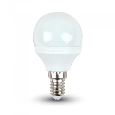 Λάμπα LED E14 P45 SMD 3W Λευκό 6000K Λευκό