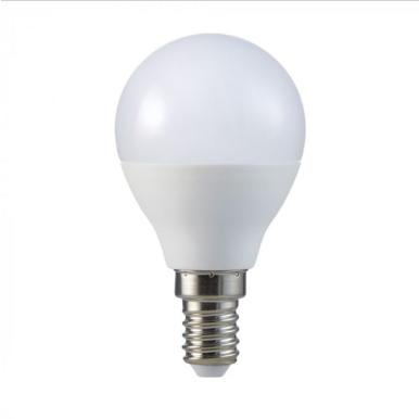 Λάμπα LED E14 P45 SMD 5.5W Λευκό 6400K CRI>95