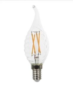 LED Λάμπες E14 Filament Κερί