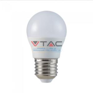 Λάμπα LED E14 G45 SMD 5.5W Φυσικό λευκό 4000K CRI>95