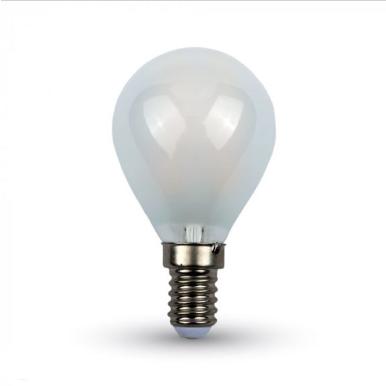 Λάμπα LED E14 P45 Cross Filament 4W Φυσικό λευκό 4000K Frost Cover