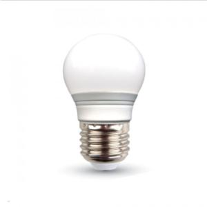 Λάμπα LED E27 G45 SMD 3W Θερμό λευκό 3000K Λευκό