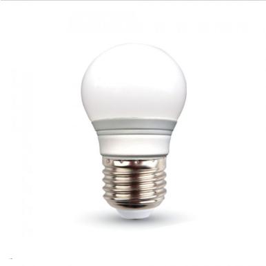 Λάμπα LED E27 G45 SMD 3W Φυσικό λευκό 4500K Λευκό