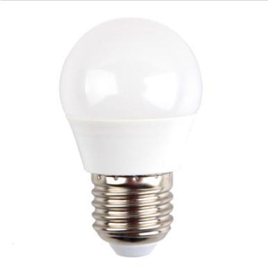 Λάμπα LED E27 G45 SMD 5.5W Θερμό λευκό 2700K Λευκό