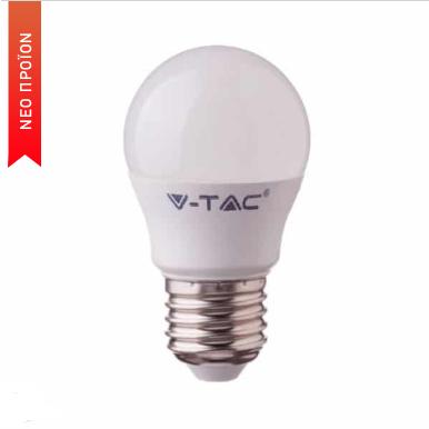 Έξυπνη λάμπα LED E27 G45 4.5W RGB + Ψυχρό λευκό + Θερμό λευκό, Συμβατή με Amazon Alexa και Google Home