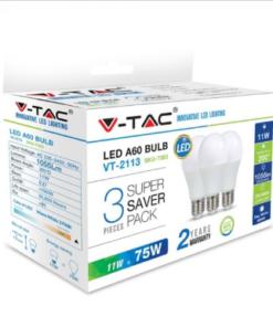 LED Λάμπες E27 A60