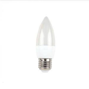 Λάμπα LED E27 Κερί SMD 5.5W Θερμό λευκό 2700K Λευκό