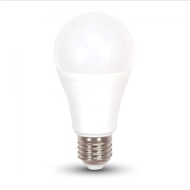Λάμπα LED E27 A60 SMD 9W Θερμό λευκό 3000K Λευκό Diimable 3 βημάτων