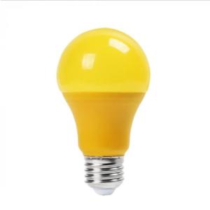 Λάμπα LED E27 A60 SMD 9W Κίτρινη