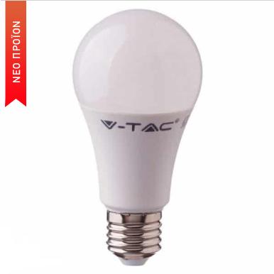 Έξυπνη λάμπα LED E27 A60 11W RGB + Ψυχρό λευκό + Θερμό λευκό, Συμβατή με Amazon Alexa και Google Home