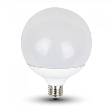 Λάμπα LED E27 G120 SMD 13W Λευκό 6000K Λευκό