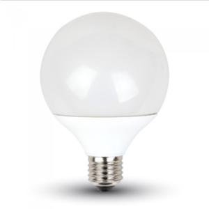 Λάμπα LED E27 G95 SMD 10W Θερμό λευκό 3000K Λευκό