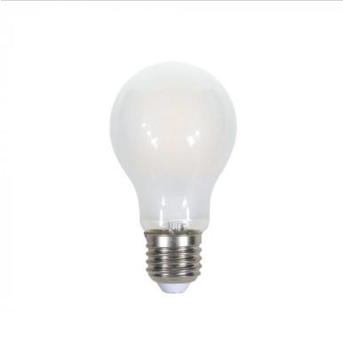 Λάμπα LED E27 A60 Cross Filament 7W Θερμό λευκό 2700K Frost Cover