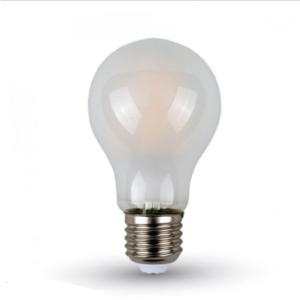 Λάμπα LED E27 A60 Filament 6W Θερμό λευκό 2700K Frost Cover
