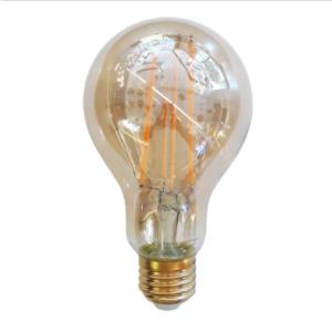 Λάμπα LED E27 A70 Filament 12.5W Θερμό λευκό 2200K Amber cover