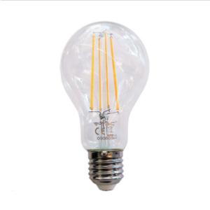 Λάμπα LED E27 A70 Filament 12.5W Θερμό λευκό 3000K Διάφανο