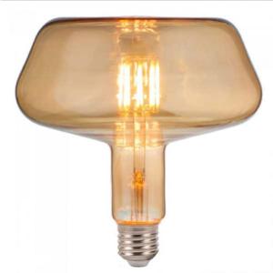 Λάμπα LED E27 T180 LED FLAMENT BULB 8W Θερμό λευκό 2200K Amber cover