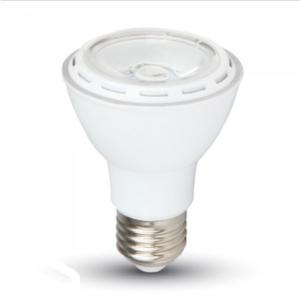 Λάμπα LED E27 PAR20 SMD 8W Θερμό λευκό 3000K Λευκό σώμα