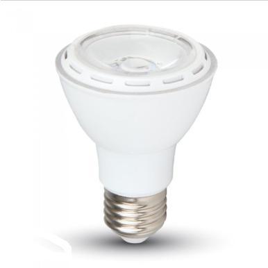 Λάμπα LED E27 PAR20 SMD 8W Λευκό 6000K Λευκό σώμα