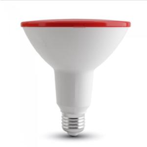 Λάμπα LED E27 PAR38 SMD 15W Κόκκινο Λευκό σώμα