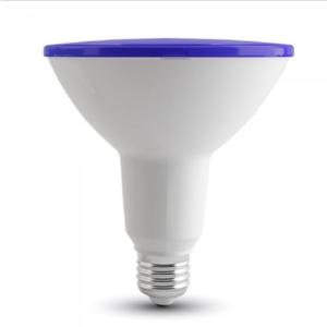 Λάμπα LED E27 PAR38 SMD 15W Μπλε Λευκό σώμα