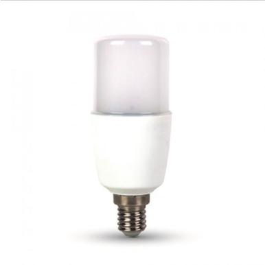 Λάμπα LED E14 T37 SMD 9W Θερμό λευκό 2700K Λευκό