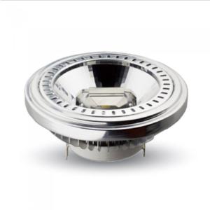 Λάμπα LED Spot G53 AR111 COB 15W θερμό λευκό 3000K 40° αλουμίνιο σώμα