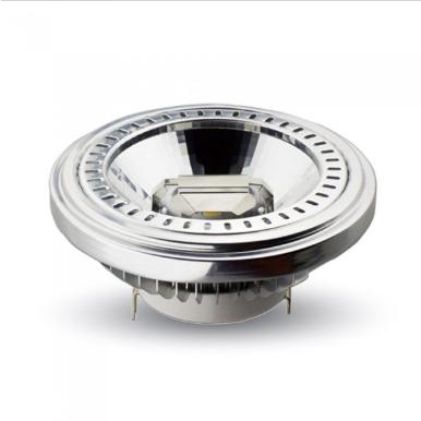 Λάμπα LED Spot G53 AR111 COB 15W θερμό λευκό 3000K 20° αλουμίνιο σώμα