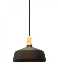 Φωτιστικά Μέταλλο με Ξύλινη Βάση