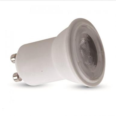 Λάμπα LED Spot GU10 SMD 2W θερμό λευκό 3000K λευκό σώμα
