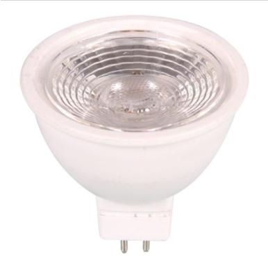 Λάμπα LED Spot MR16 SMD SMD 7W θερμό λευκό 3000K λευκό σώμα
