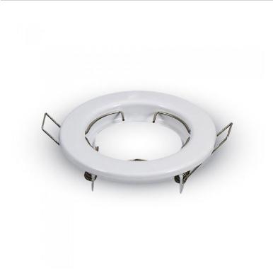 Χωνευτό φωτιστικό spot GU10 στρογγυλό λευκό σώμα
