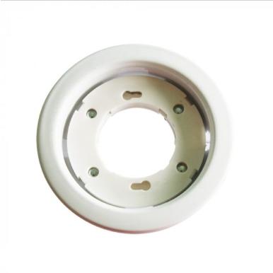 Χωνευτό φωτιστικό spot Gx53 στρογγυλό λευκό σώμα