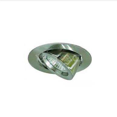 Χωνευτό φωτιστικό spot GU10 στρογγυλό αλουμίνιο zoom fitting satin nickel