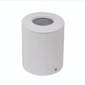 Εξωτερικό φωτιστικό spot GU10 στρογγυλό λευκό σώμα IP54