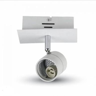 Φωτιστικό spot ράγας 1 x GU10 λευκό σώμα