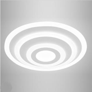 LED πολυέλαιος επιφανειακός 4 δακτύλιοι 85W 3000K Θερμό λευκό Dimmable 3 βημάτων